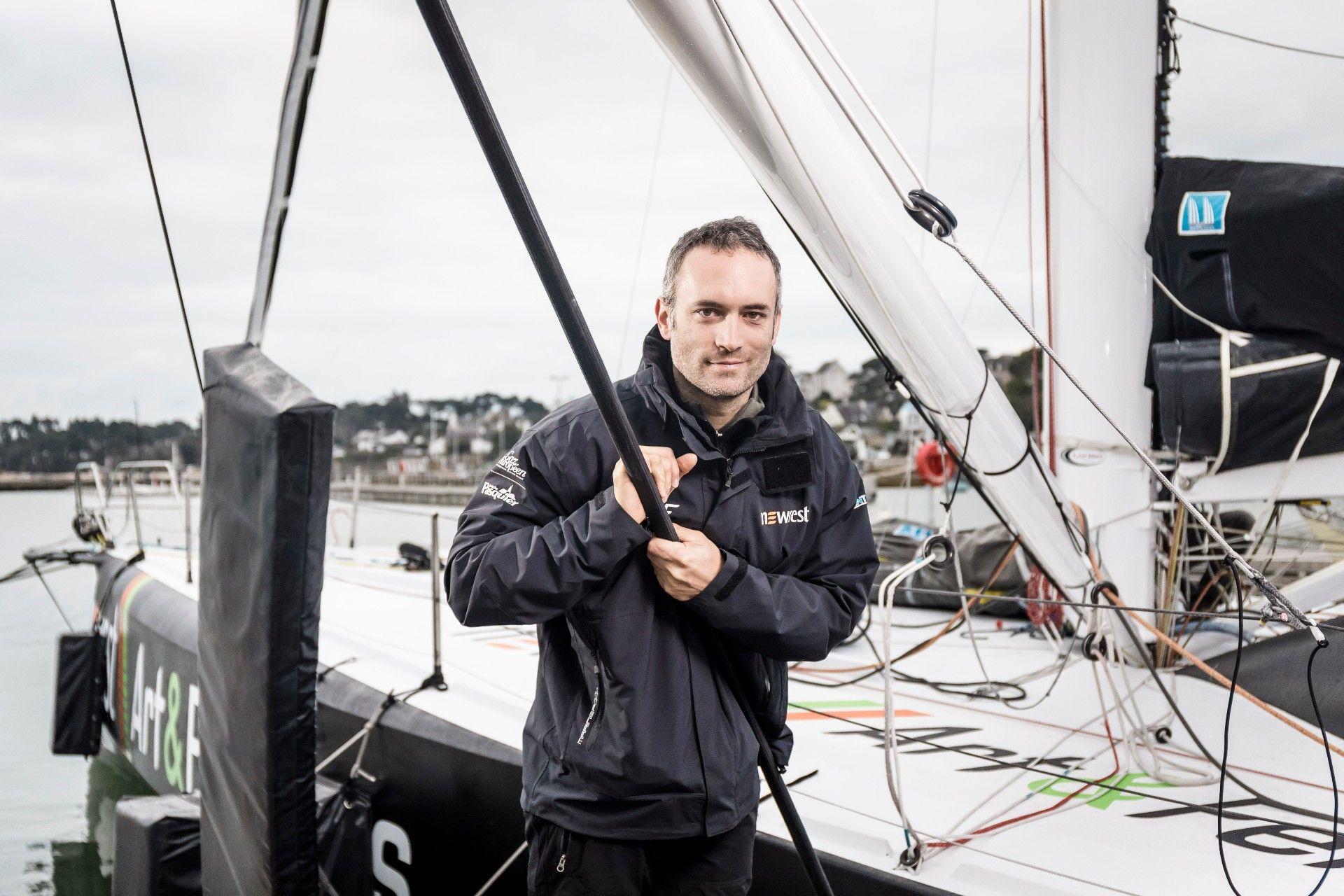 David Gabard (Agence de Nantes Guist'hau) & Fabrice Amedeo (Navigateur)